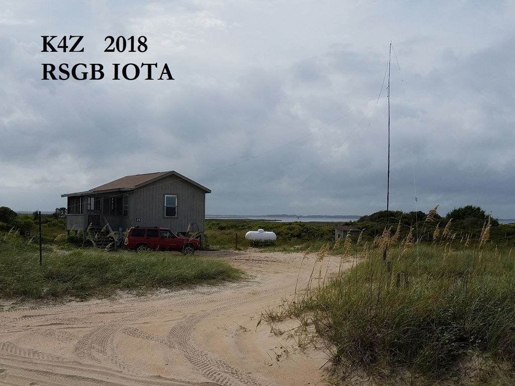 2018 K4Z IOTA QTH on Cape Lookout(Great Island, NA067)