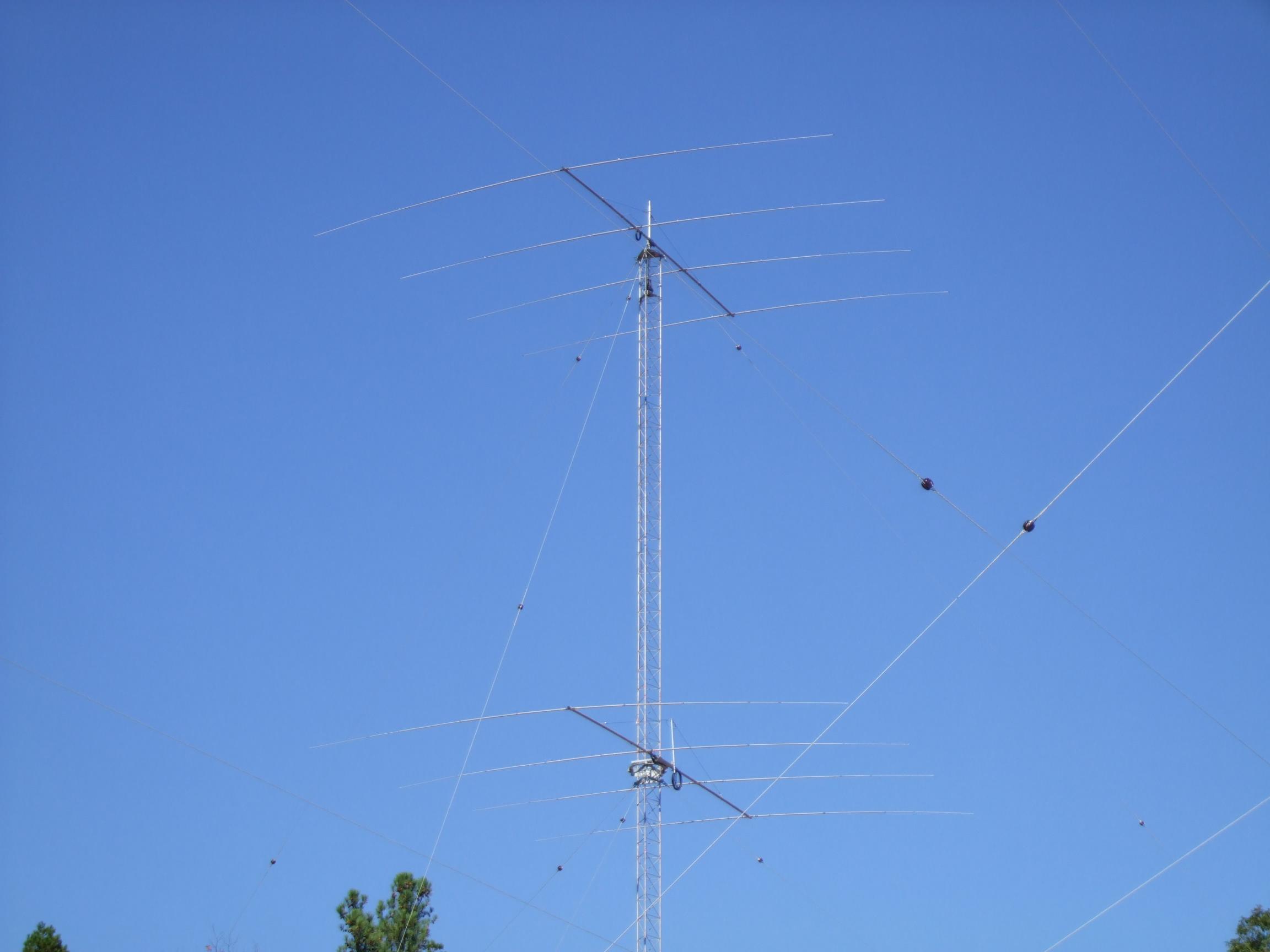 Both Antennas mounted