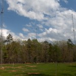 Antenna farm nearing completion