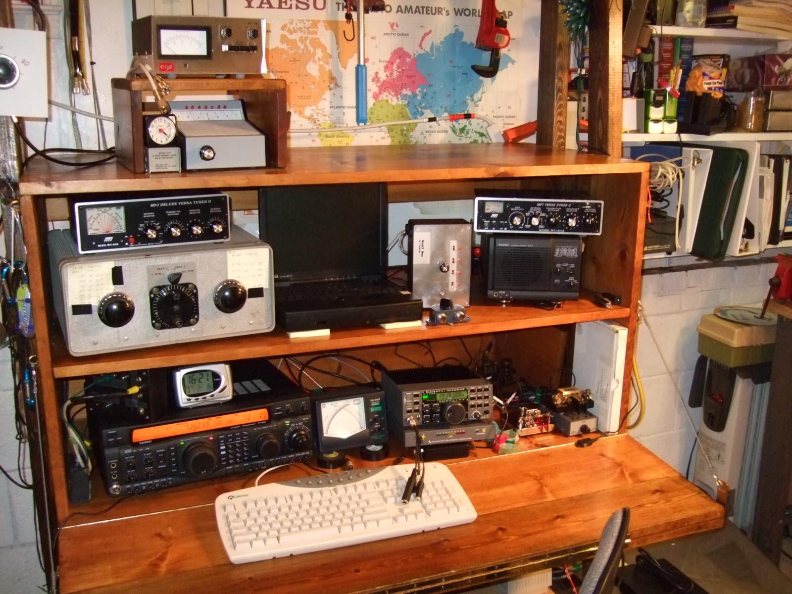 The Kazshack - Homebrew Station Cabinet  Desk