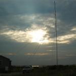 A sunset shot of the N4A operations HQ,
