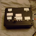 The completed SO2R control box