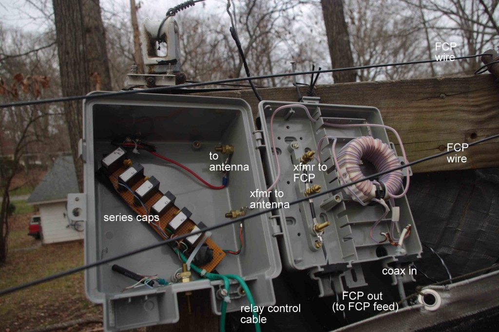 Picture of W4KAZ junction box