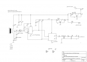 Schematic for W4KAZ version of si570 oscillator