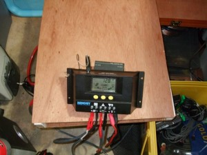 Charge controler for solar power