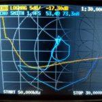W4KAZ homebrew BCB Filter 50kc to 30M SWR scan